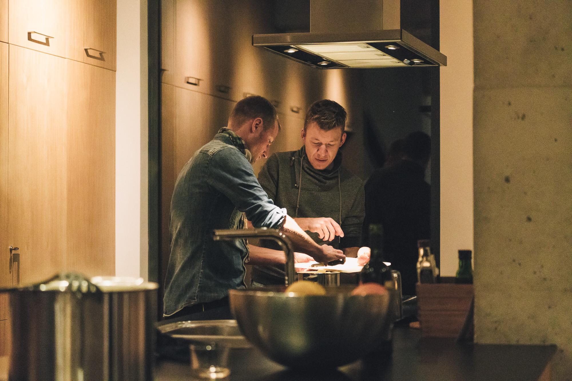Die Küche …